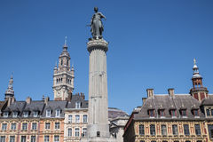 Grand Place in Lille Stock Photo