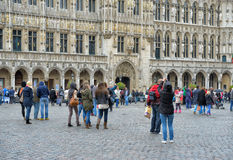 Grand Place on September 14, 2013 Stock Photography