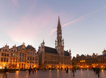 Grand Place And Town Square, Brusseles Royalty Free Stock Photos