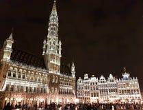 Grand Place van Brussel royalty-vrije stock afbeelding