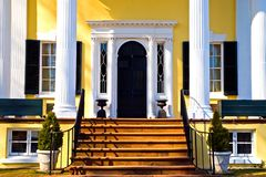 Grand Plantation Entrance Stock Photos