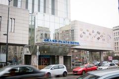 Grand plaza hotel bucharest Stock Images