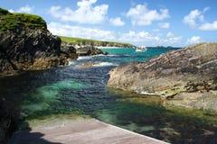 Grand port d'île de Blasket Image stock