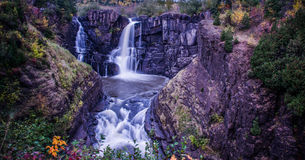 Grand Portage Water fall stock photography