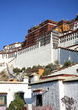 Grand potala palace Stock Image