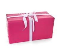 Grand présent enveloppé Images stock
