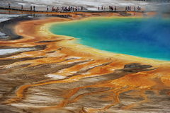 Grand Prismatic Stock Photography