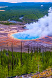 Grand Prismatic Geyser from above Royalty Free Stock Photo