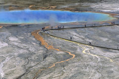 Grand Prismatic Lake Royalty Free Stock Images