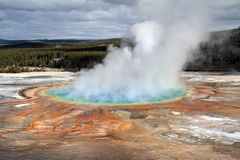 Grand Prismatic pool Royalty Free Stock Images
