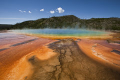 Free Grand Prismatic Spring 2 Stock Images - 15556284