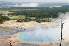 Grand Prismatic Spring Royalty Free Stock Photos