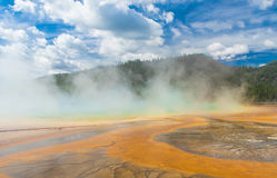 Grand Prismatic Spring Stock Photos