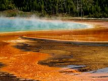 Grand Prismatic Spring Stock Images