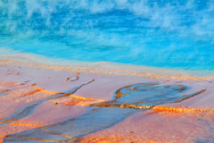 Grand Prismatic Spring - Yellowstone Stock Photo