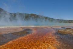 Grand prismatic spring, Yellowstone Royalty Free Stock Photo