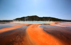 Grand Prismatic Spring, Yellowstone National Park, USA Royalty Free Stock Image
