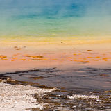 Grand Prismatic spring, Yellowstone National Park Royalty Free Stock Photos