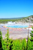 Grand Prismatic Springs Royalty Free Stock Photo