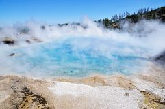 Grand Prismatic Springs Royalty Free Stock Photography