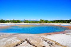 Grand Prismatic Springs Stock Photography