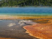 Grand Prismatic Springs Stock Image