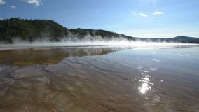 Grand Prismatic Yellowstone National Park Stock Photography