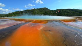 Grand Prismatic Yellowstone National Park Royalty Free Stock Photos