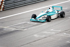 Grand Prix. Racing car at starting grid Stock Photos