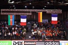 Grand Prix 2012 DÃ ¼ sseldorf Duitsland van het judo Stock Afbeeldingen