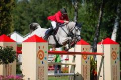 Grand Prix CSIO-W*** August 10, 2014 in Bratislava, Slovakia Royalty Free Stock Photo