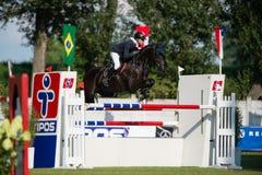 Grand Prix CSIO-W*** August 10, 2014 in Bratislava, Slovakia Stock Photography