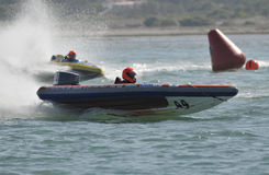 Grand Prix de Portugal Speedboat Royalty Free Stock Images