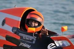 Grand Prix de Portugal Speedboat Stock Images