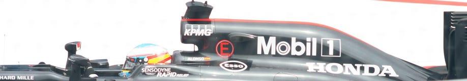 Grand Prix F1 2016 της Honda McLaren Στοκ εικόνες με δικαίωμα ελεύθερης χρήσης