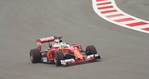 Grand Prix F1 2016 Ferrari sf16-χ Στοκ φωτογραφία με δικαίωμα ελεύθερης χρήσης