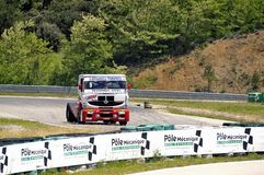 Grand Prix of France trucks 2013 Royalty Free Stock Photo
