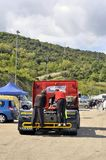 Grand Prix of France trucks 2013 Stock Photography