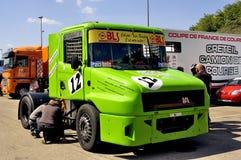 Grand Prix of France trucks 2013 Stock Photos