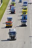 Grand Prix of France trucks 2013 Stock Photo