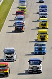 Grand Prix of France trucks 2013 Stock Photos