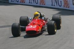 Grand Prix Historique Montecarlo. 6° Grand Prix Historique Montecarlo 10-11 May 2008. Ferrari 312 of 1967 Royalty Free Stock Photos