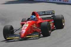 Grand Prix Historique Montecarlo. 6° Grand Prix Historique Montecarlo 10-11 May 2008. Parade Ferrari, curve of the casino Royalty Free Stock Photo