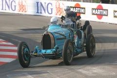 Grand Prix Historique Montecarlo. 6° Grand Prix Historique Montecarlo 10-11 May 2008. Historical car in contest Bugatti Type 37 of 1927 Royalty Free Stock Photo