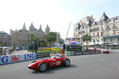 Grand Prix Historique Montecarlo. Historical contest of car from collection Royalty Free Stock Image