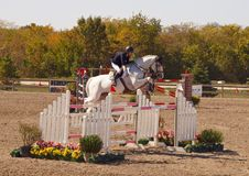 Grand Prix Jumping Royalty Free Stock Photos