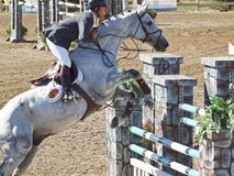 Grand Prix Jumping Royalty Free Stock Photo