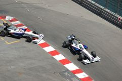 Grand Prix Monaco 2009, BMW's duel royalty free stock photography