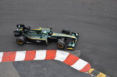 Grand Prix Monaco 2010, Lotus of Heikki Kovalainen Stock Image
