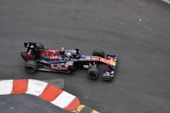 Grand Prix Monaco 2010, Red Bull of Buemi Royalty Free Stock Image